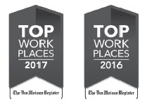 top workplaces badges